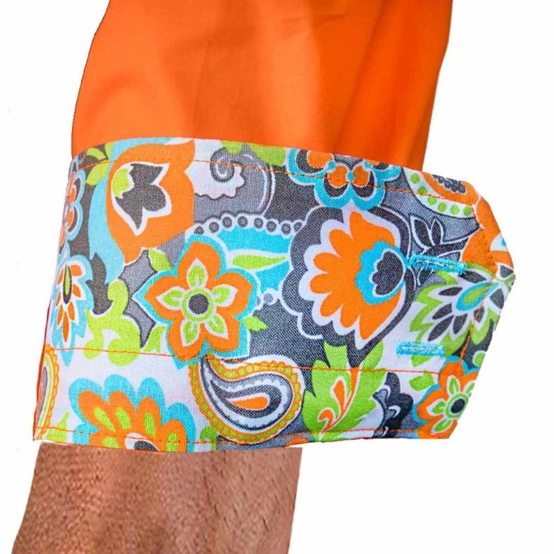 Orange-Multi-Colored-Dress-Shirts