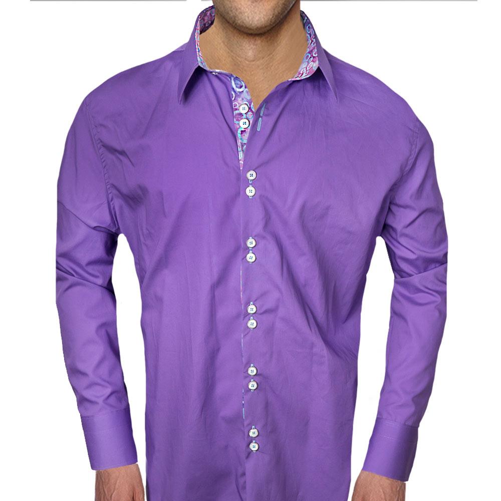 Purple-with-Blue-Dress-Shirts