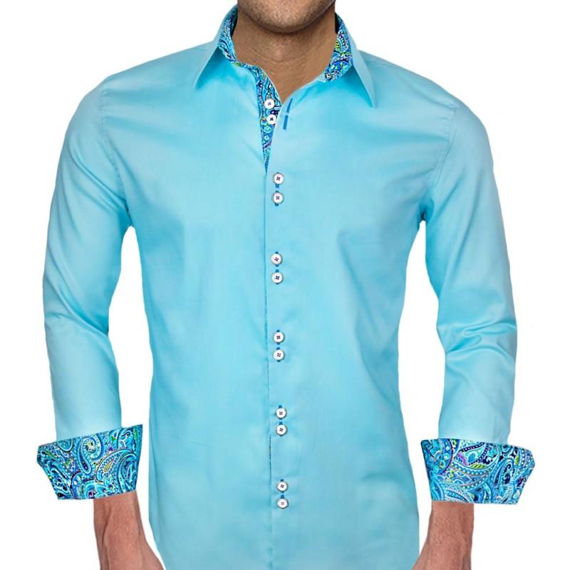 Blue-with-Purple-Dress-Shirts