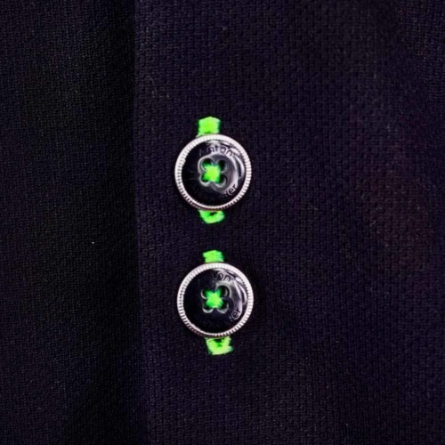 Black-Dress-Shirts-with-Neon-Green