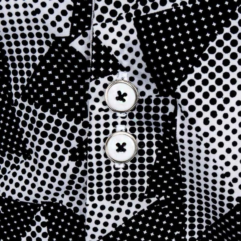 Black-and-White-Contrast-Dress-Shirts