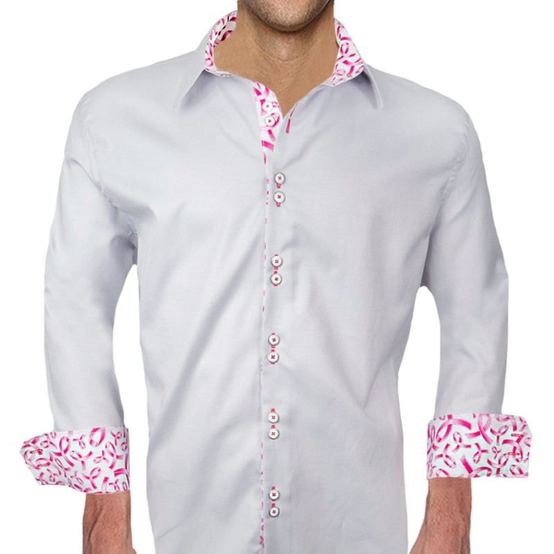 Breast-Cancer-Accent-on-Cuff-Dress-Shirts