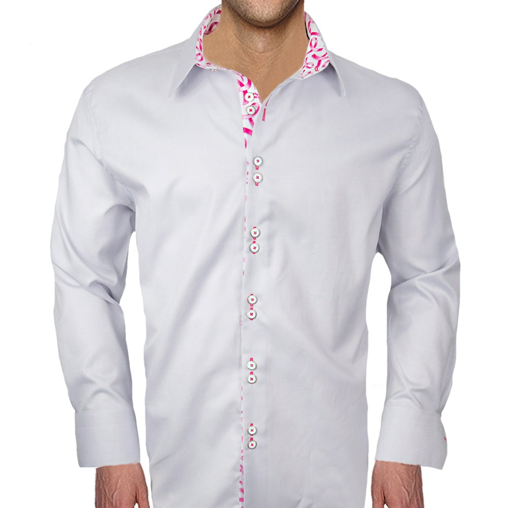 Breast-Cancer-Ribbon-Dress-Shirts