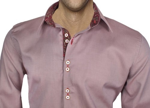Brown-Mens-Dress-Shirts