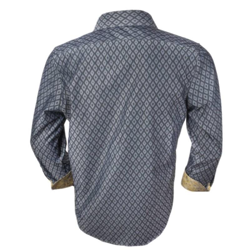 Gray-Diamond-Dress-Shirts