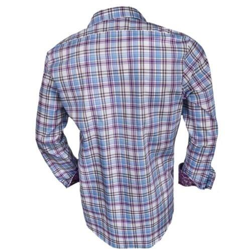 Plaid-Mens-Dress-Shirts