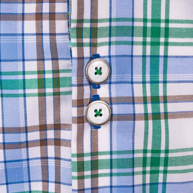 green-brown-plaid-dress-shirts