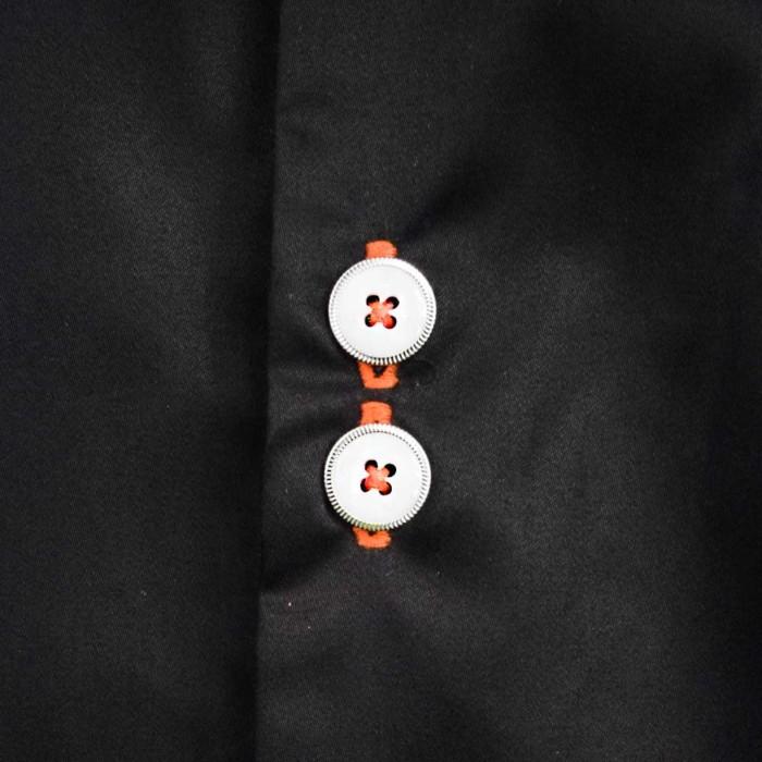 Black-and-Orange-Dress-Shirts
