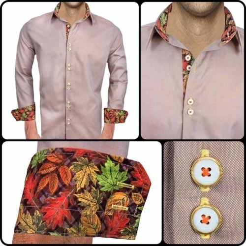 Brown-Fall-Mens-Dress-Shirts
