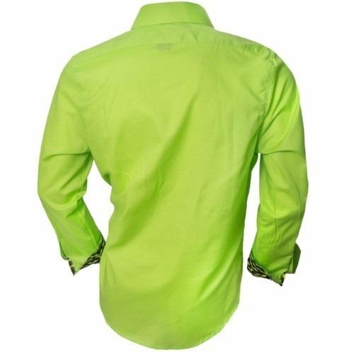 Neon-green-dress-shirts