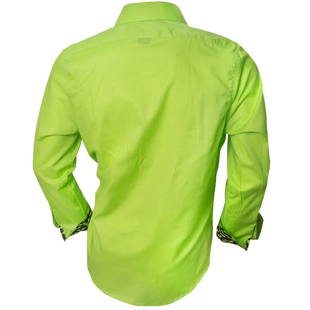 Neon-green-dress-shirts