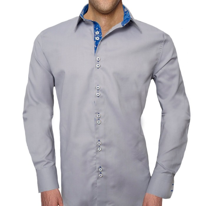 Gray-Christmas-Dress-Shirts