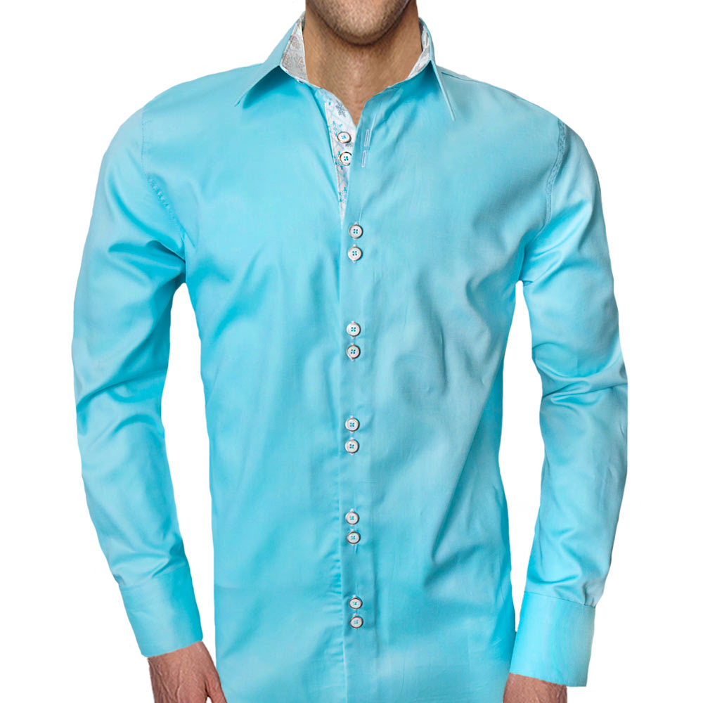 Light-Blue-snowflake-accent-dress-shirt