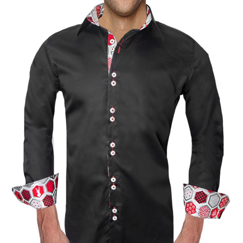 Mens-Christmas-Style-Dress-Shirts