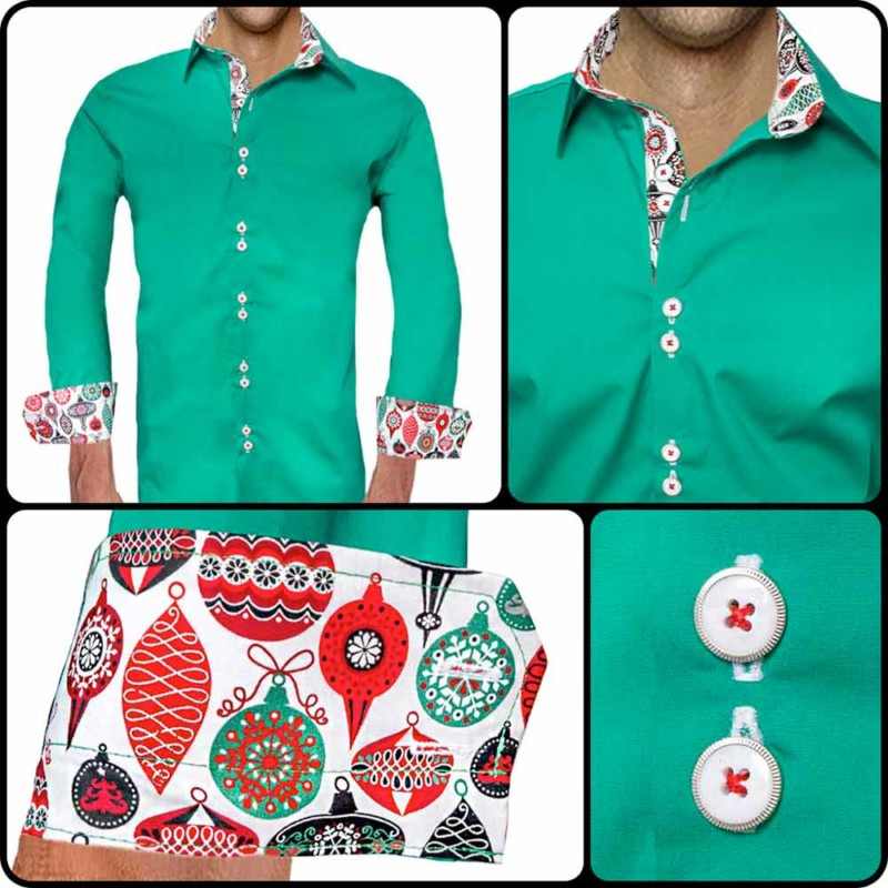 Red-and-Green-Dress-Shirts