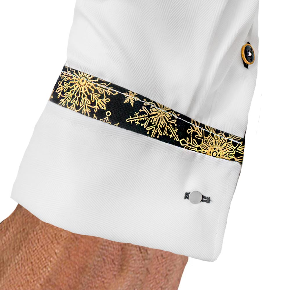 Snowflake-French-Cuff-Dress-Shirts