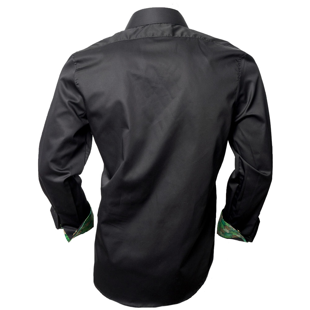 Black-Green-Dress-Shirts