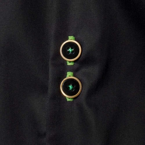 Black-and-Green-Dress-Shirts