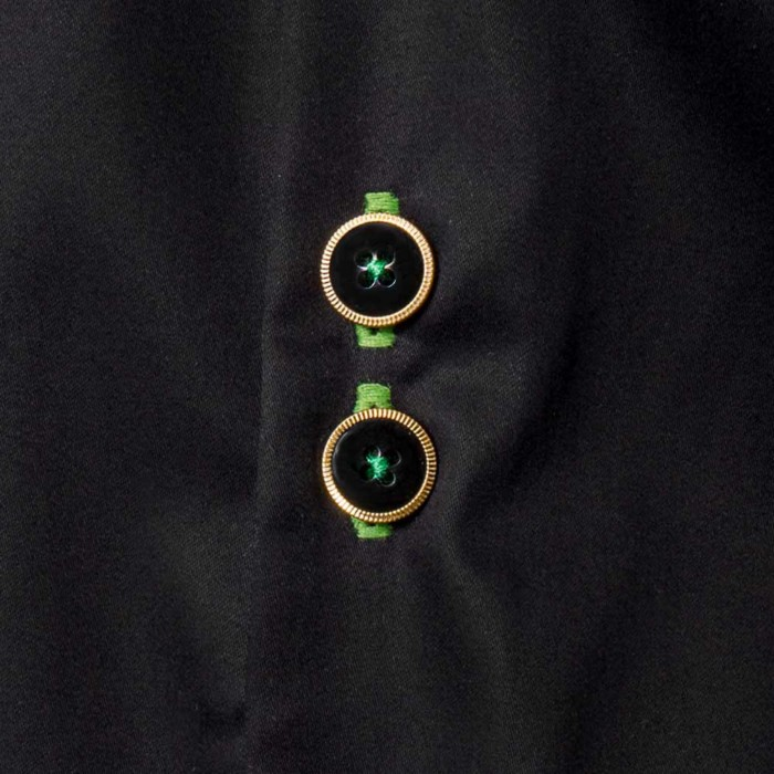Black-and-Green-Dress-Shirts