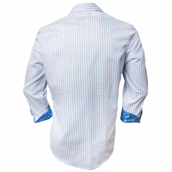 Blue-Plaid-Dress-Shirt
