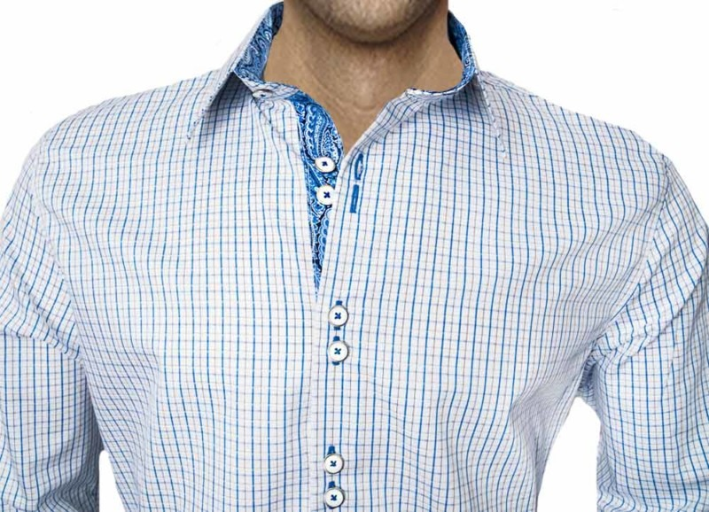 Blue-Plaid-with-Paisley-Dress-Shirt