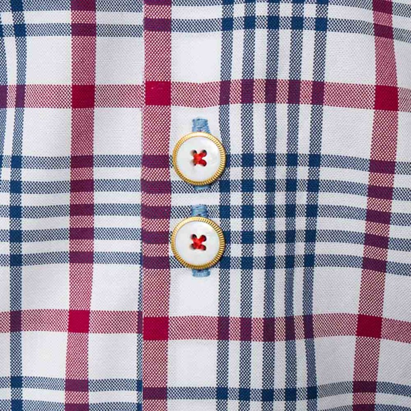 Navy-and-Red-Plaid-Shirts