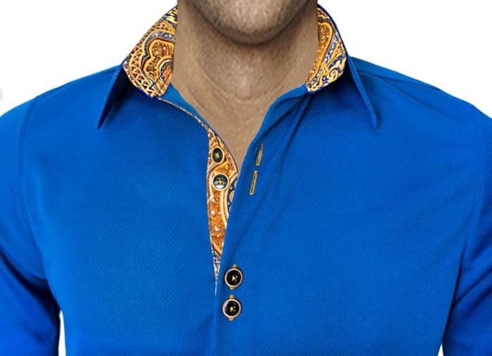 Blue-and-Gold-Dress-Shirts