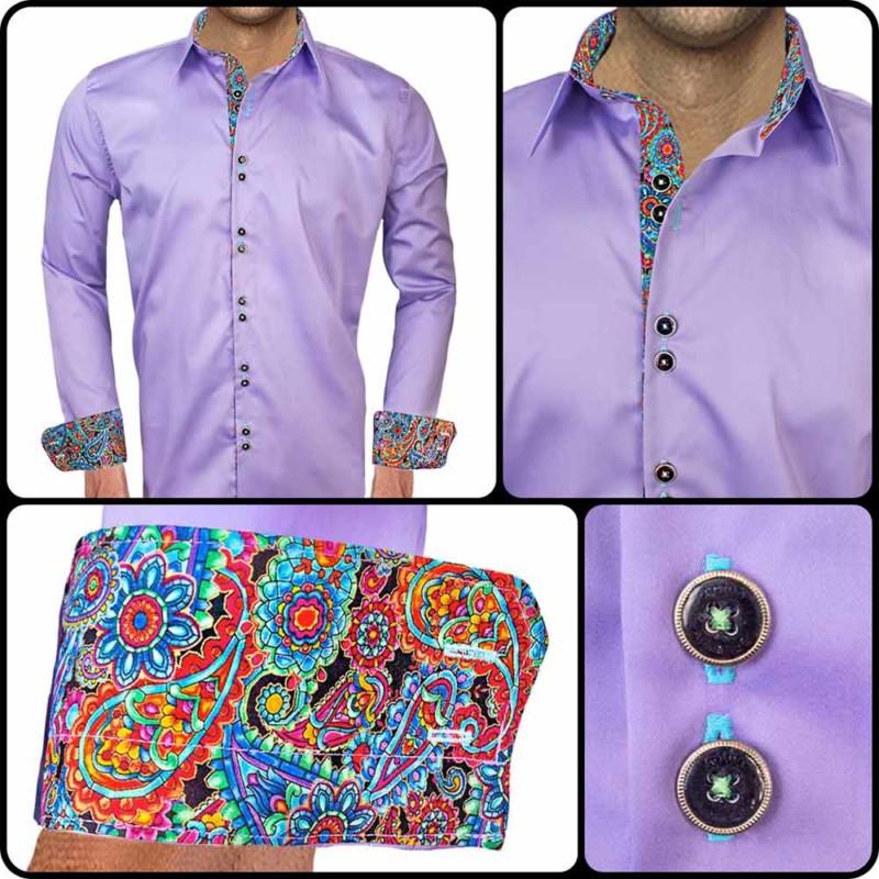 Bright-Purple-Mens-Dress-Shirts