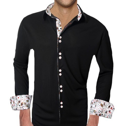 Dress-Shirts-with-Playing-Cards-Accent