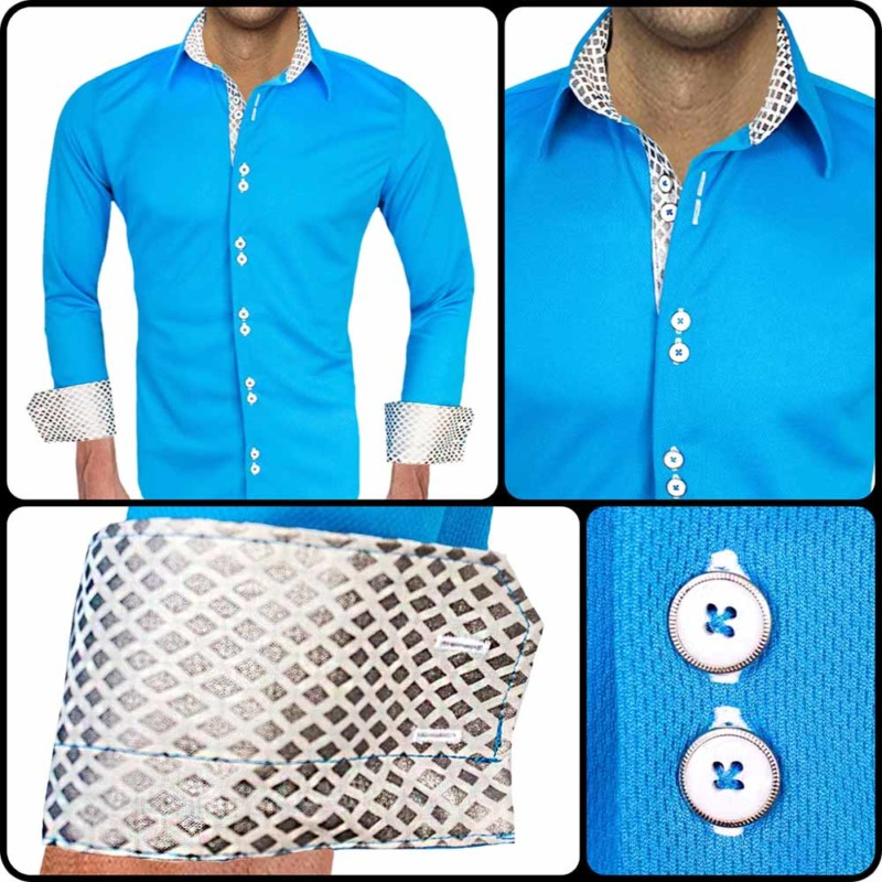 Light-Blue-with-White-Accent-Dress-Shirts