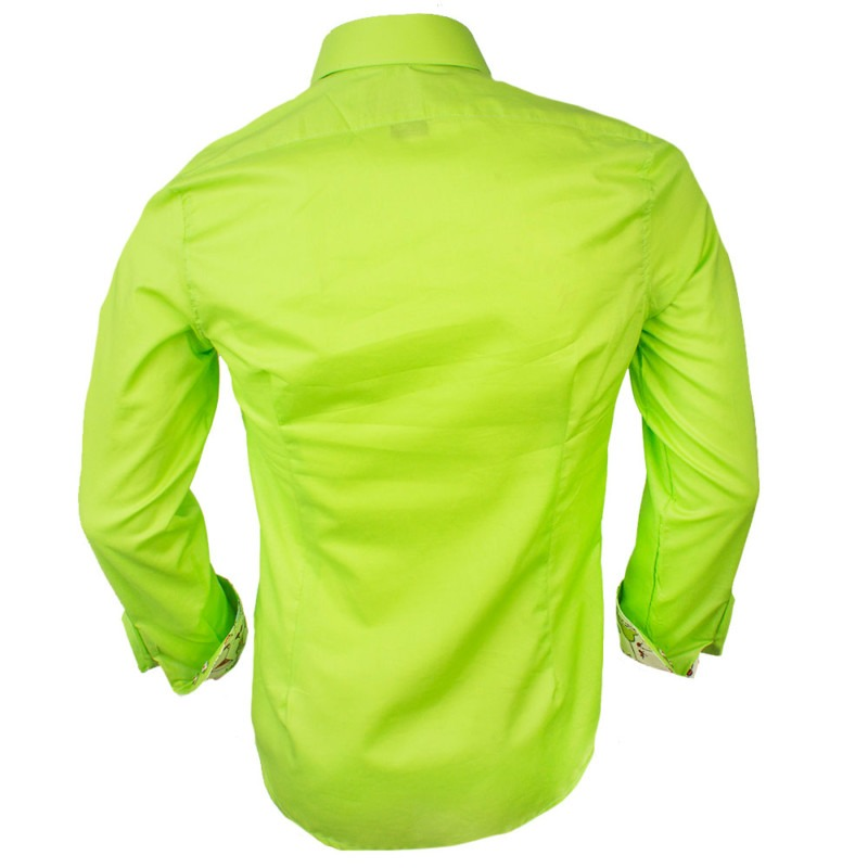 Lime-Green-Dress-Shirts