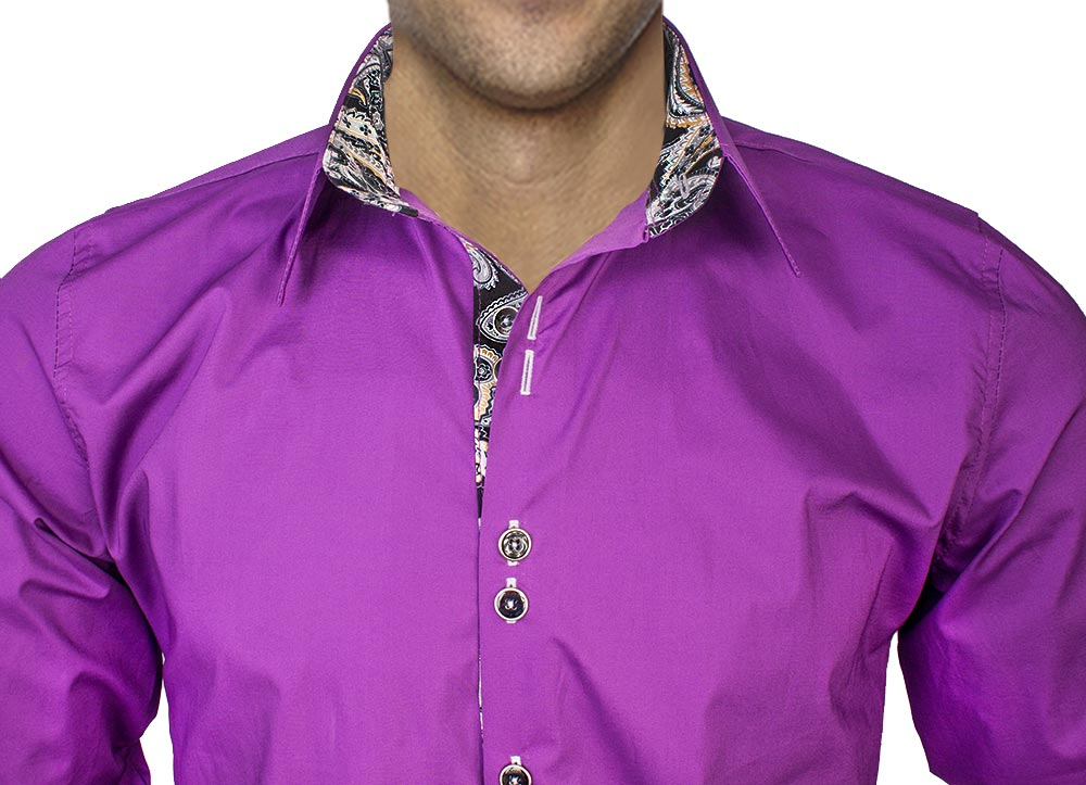 Plum-Dress-Shirts