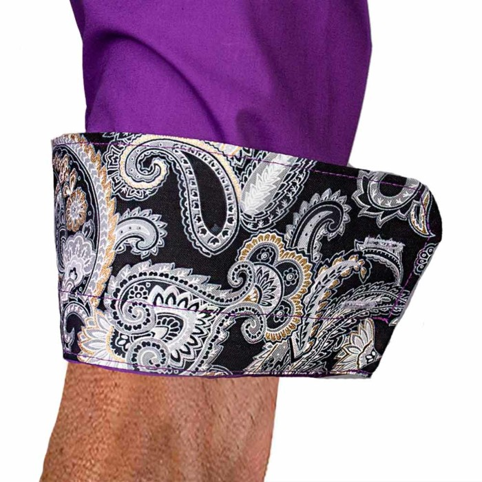 Purple-with-black-paisley-accent