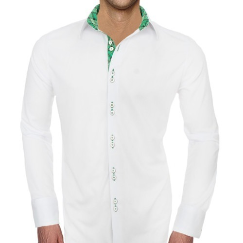 White-and-Green-Shirts