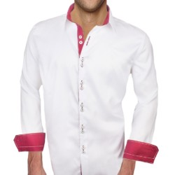 White-with-Maroon-Contrast-Dress-Shirts