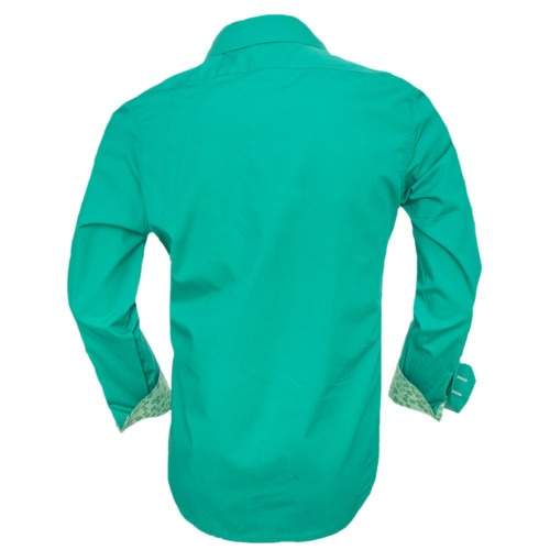 Bright-Green-Casual-Shirts