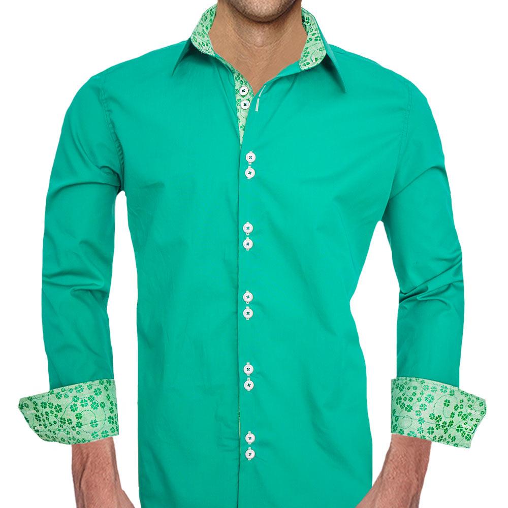 Green-Shamrock-Dress-Shirts