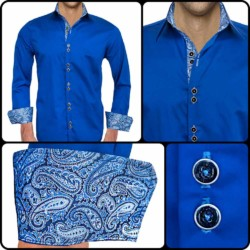 Dark-Blue-Paisley-Dress-Shirts