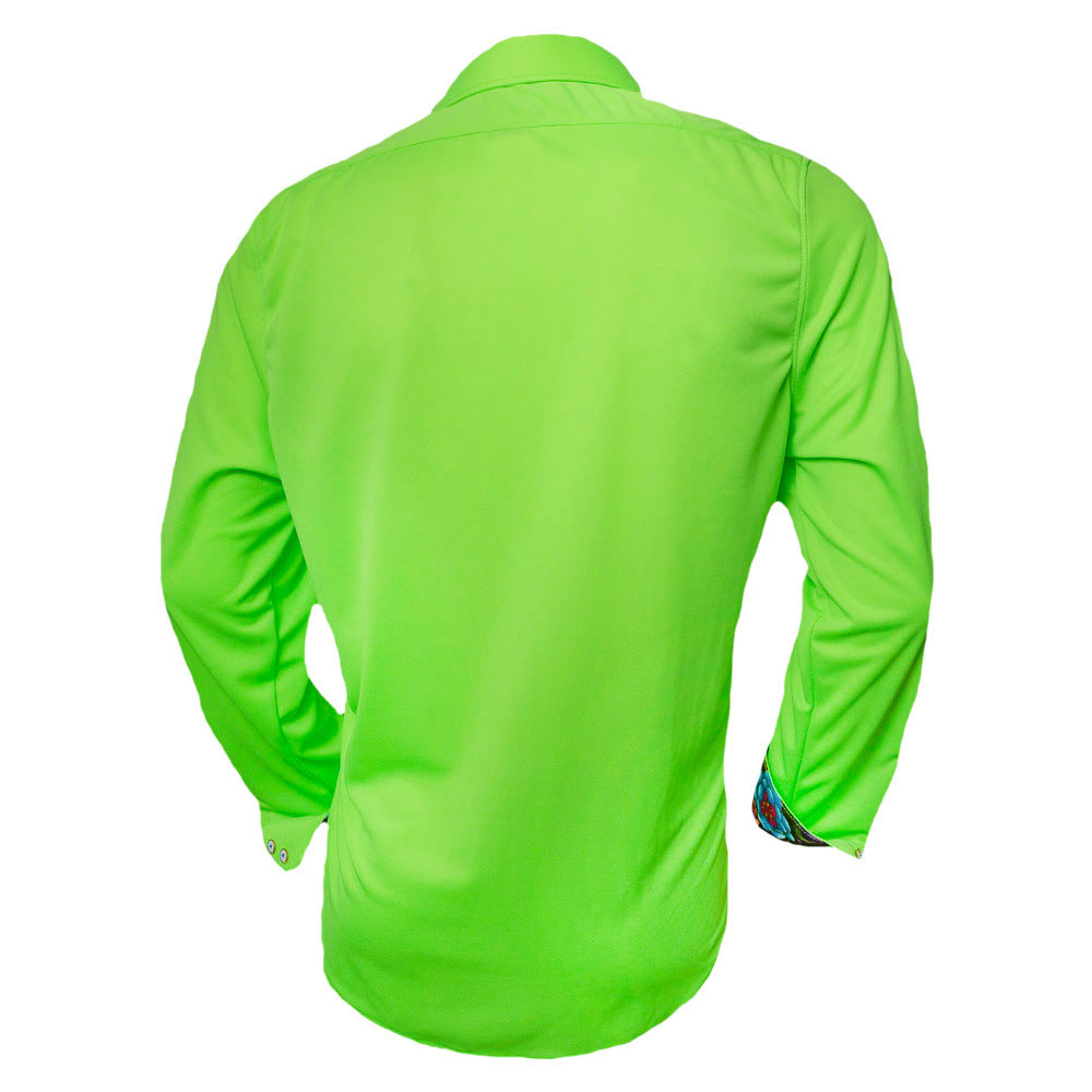 Lime-green-casual-shirts
