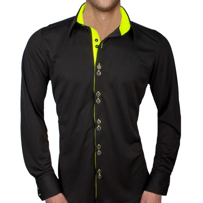 Black-and-Neon-Yellow-Shirts