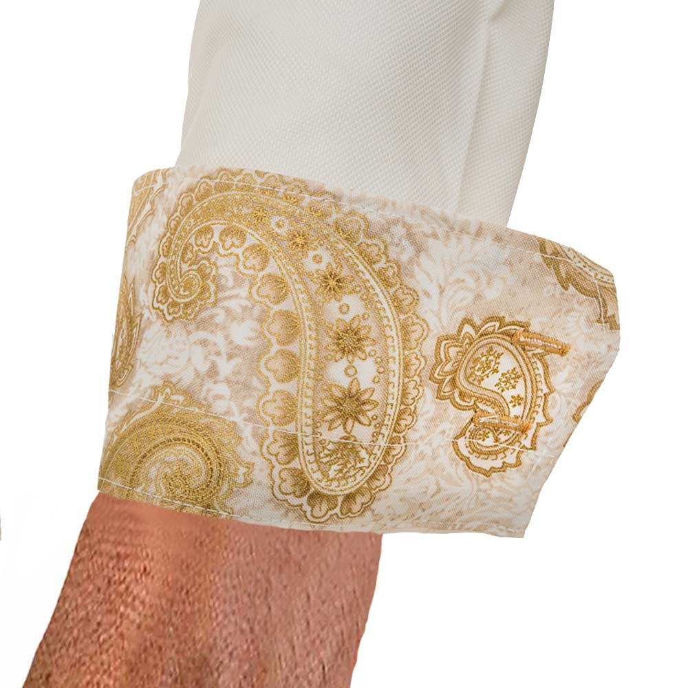 Gold-Paisley-Dress-Shirts