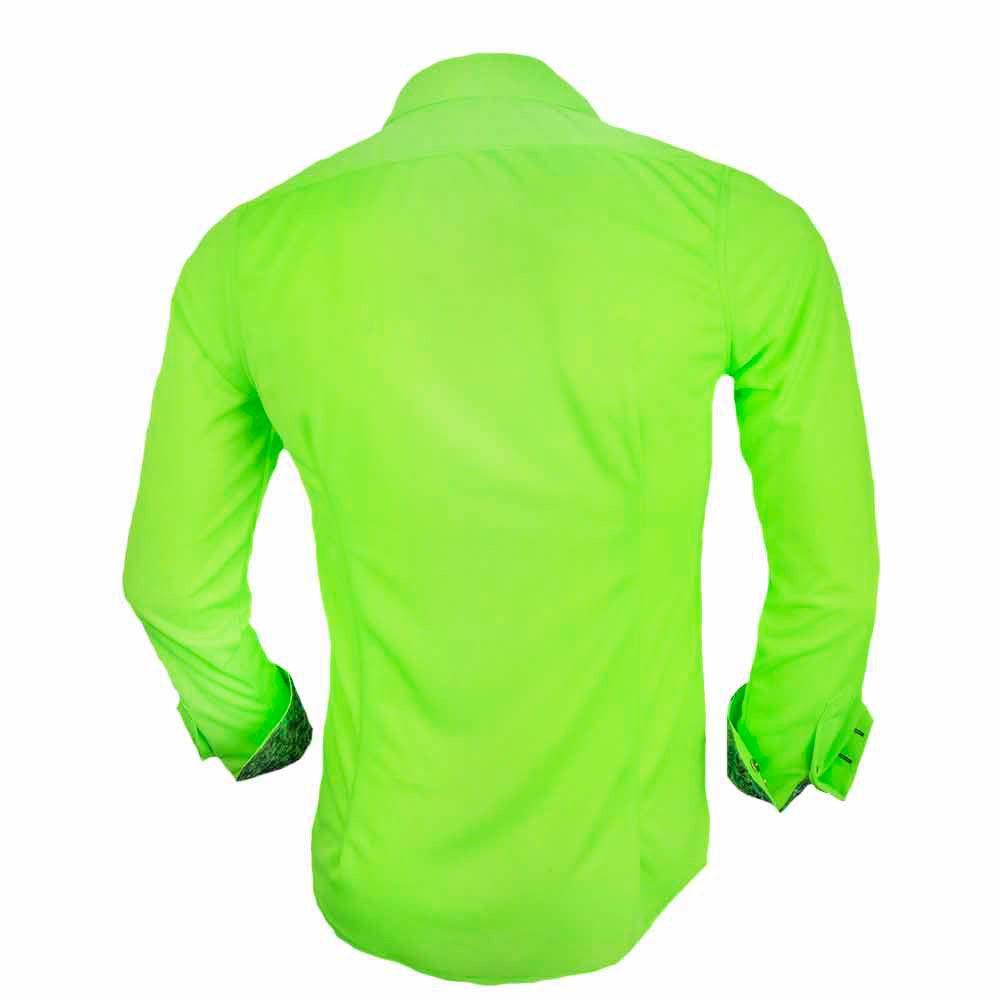 Green-mositure-wicking-dress-shirts