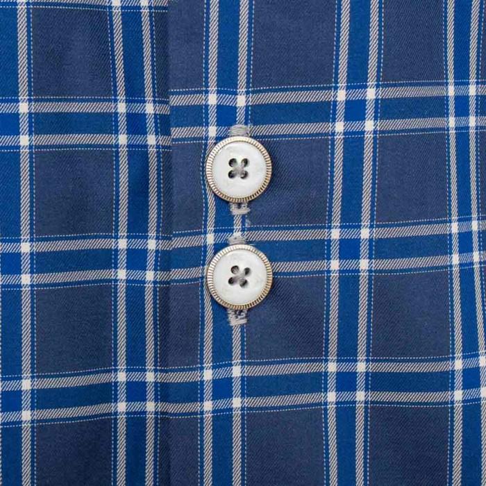 Mens-Blue-Plaid-Shirts