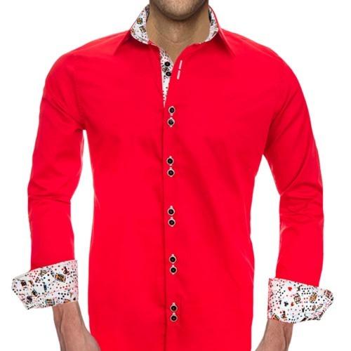 Mens-Poker-Dress-Shirts