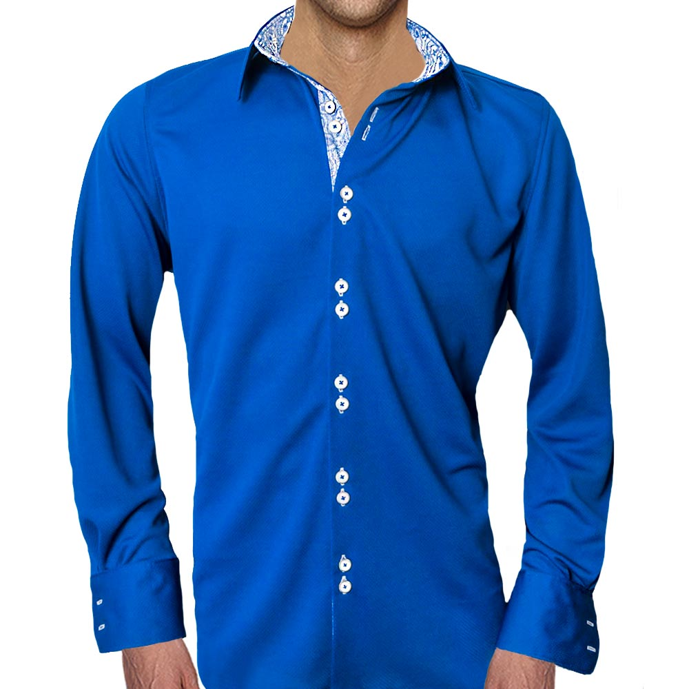 Navy-blue-casual-shirts
