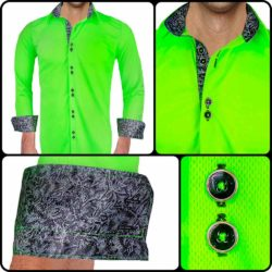Neon-Green-and-Black-Shirts