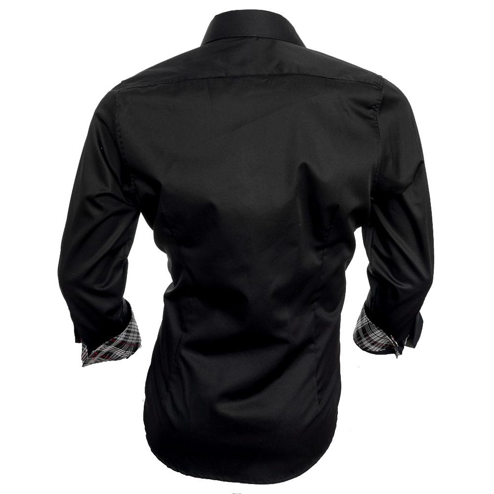 Black-designer-dress-shirts
