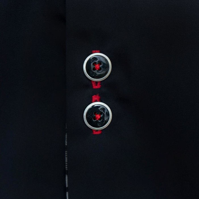 Black-with-Red-Dress-Shirts