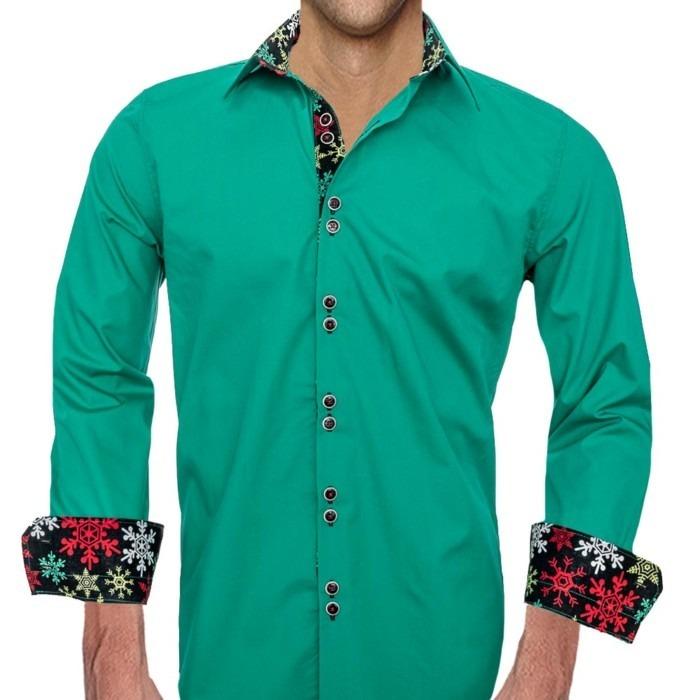 Green-Mens-Christmas-Shirts