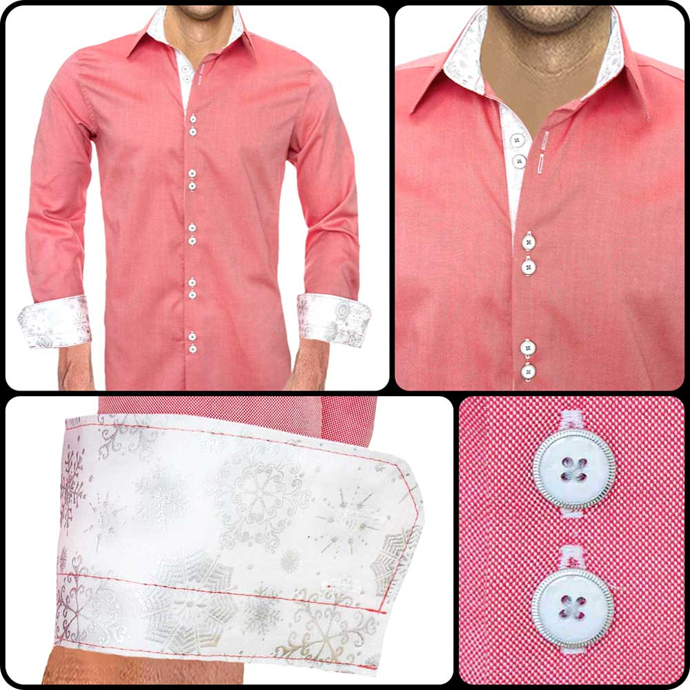 Red-Casual-Christmas-Dress-Shirts